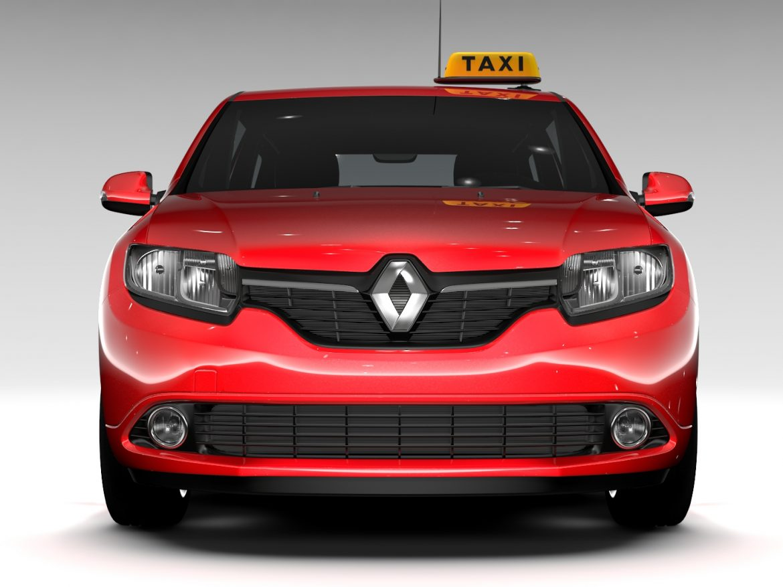 Renault Logan MCV Taxi 2016 ( 567.29KB jpg by CREATOR_3D )