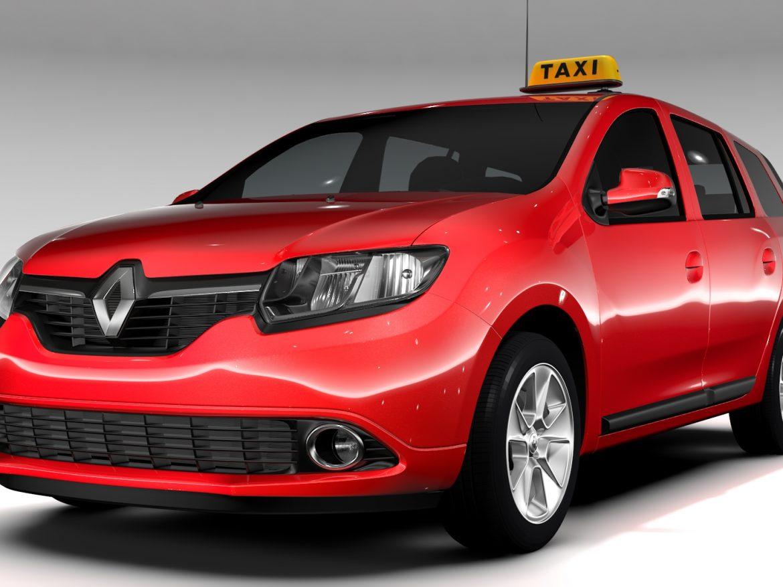 Renault Logan MCV Taxi 2016 ( 688.57KB jpg by CREATOR_3D )