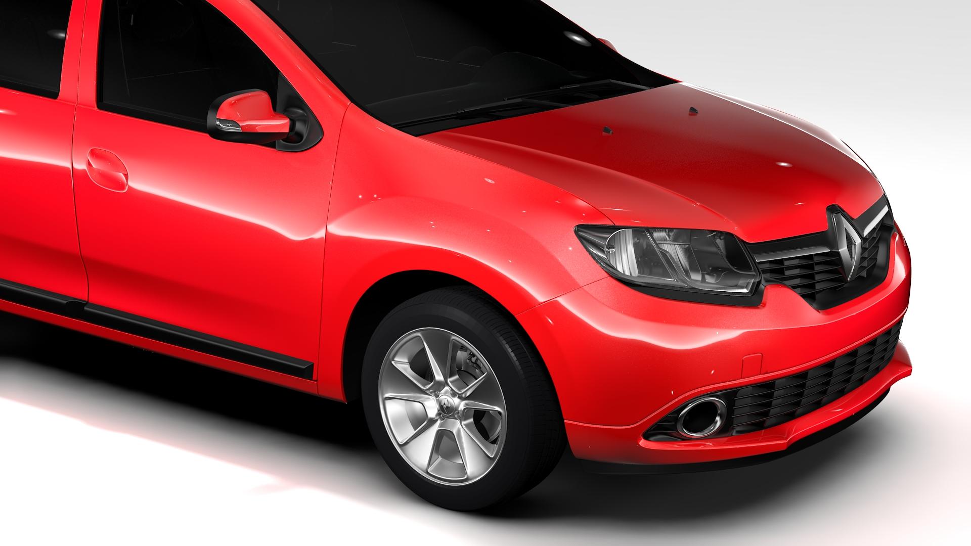 renault logan mcv taxi 2016 3d model 3ds max fbx c4d lwo ma mb hrc xsi obj 221282