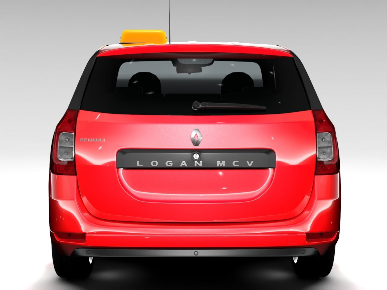 Renault Logan MCV Taxi 2016 ( 547.65KB jpg by CREATOR_3D )