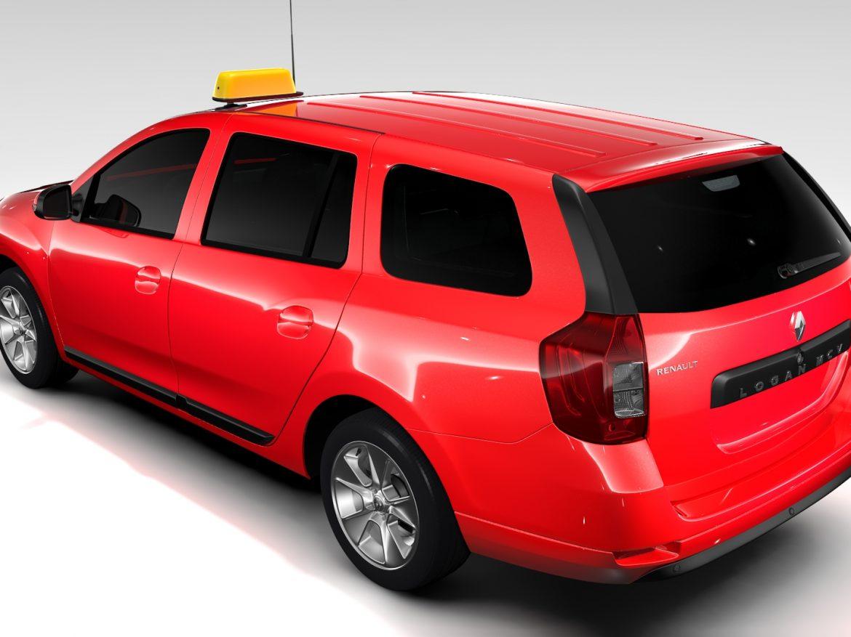 Renault Logan MCV Taxi 2016 ( 650.46KB jpg by CREATOR_3D )