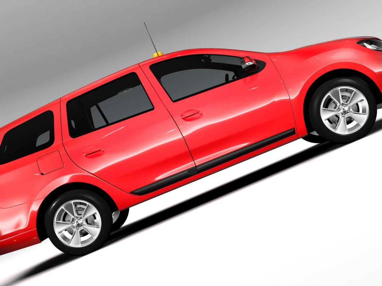 Renault Logan MCV Taxi 2016 ( 614.25KB jpg by CREATOR_3D )