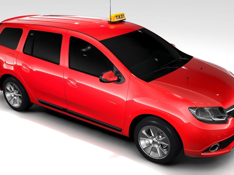 Renault Logan MCV Taxi 2016 ( 660.43KB jpg by CREATOR_3D )