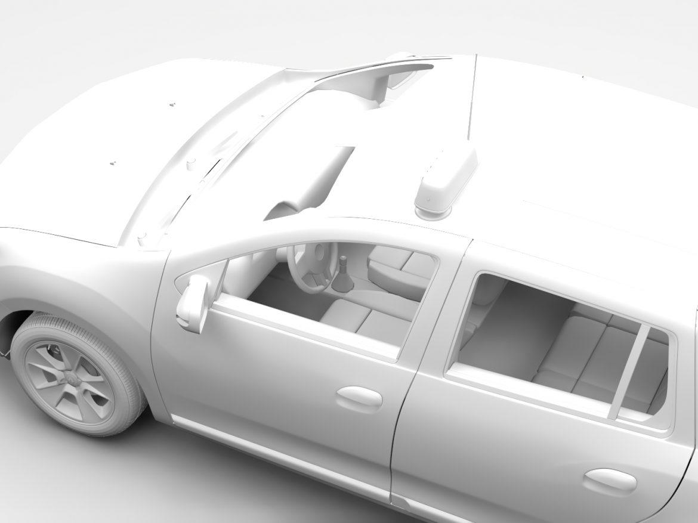 Renault Logan MCV Taxi 2016 ( 339.46KB jpg by CREATOR_3D )