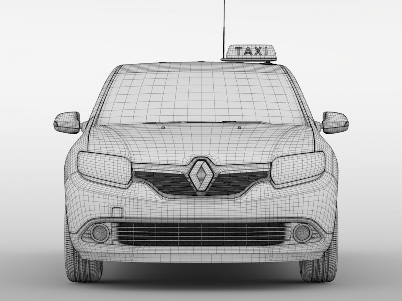 Renault Logan MCV Taxi 2016 ( 521.03KB jpg by CREATOR_3D )
