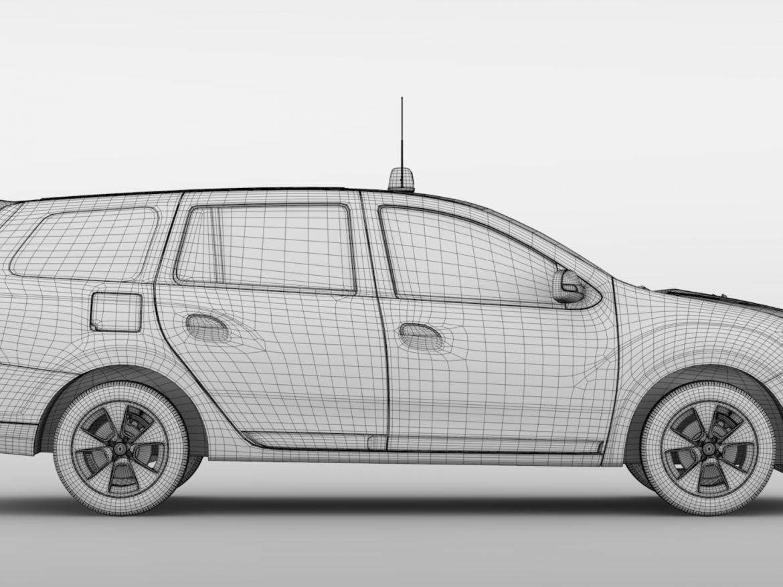 Renault Logan MCV Taxi 2016 ( 627.15KB jpg by CREATOR_3D )