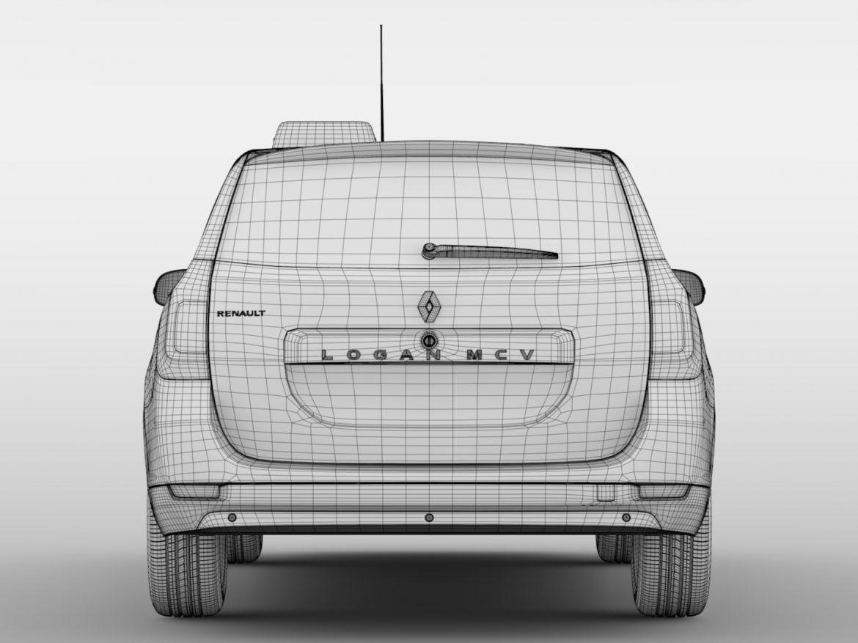 Renault Logan MCV Taxi 2016 ( 422KB jpg by CREATOR_3D )