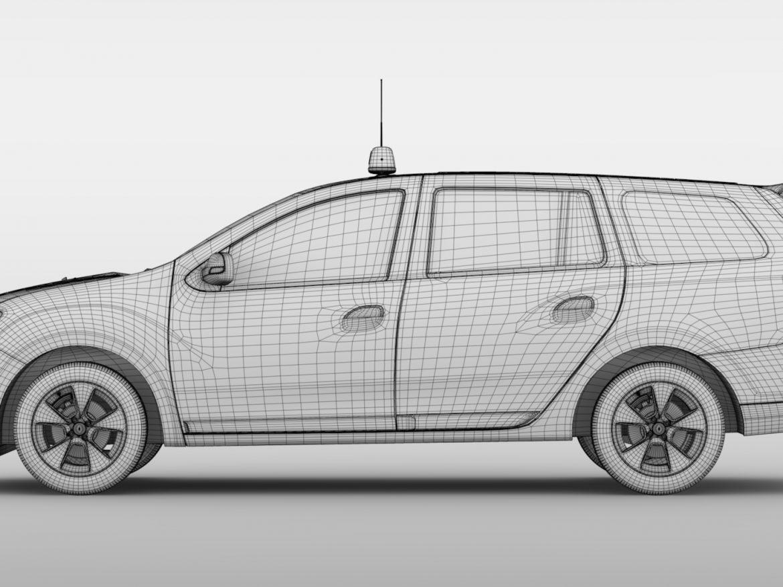 Renault Logan MCV Taxi 2016 ( 615.37KB jpg by CREATOR_3D )
