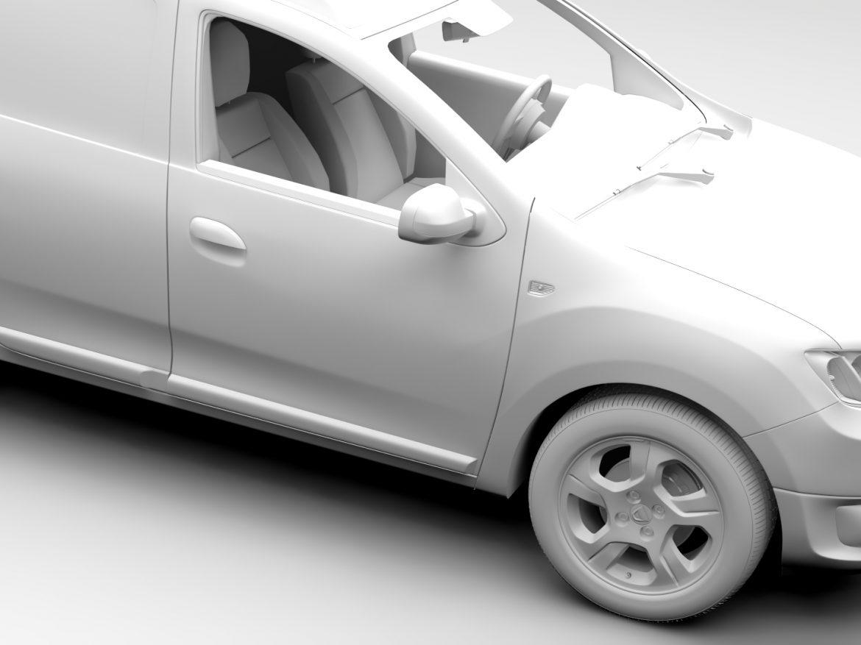 Dacia Logan VAN 2016 ( 452.36KB jpg by CREATOR_3D )