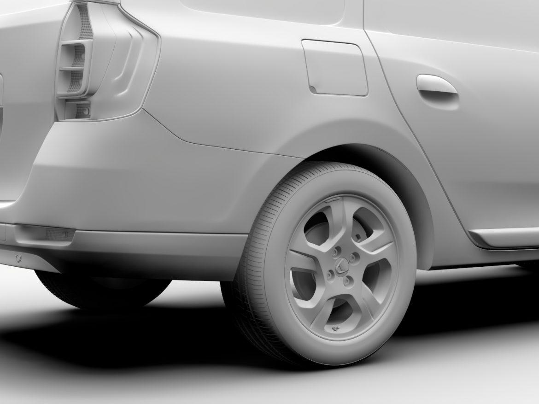 Dacia Logan VAN 2016 ( 433.39KB jpg by CREATOR_3D )