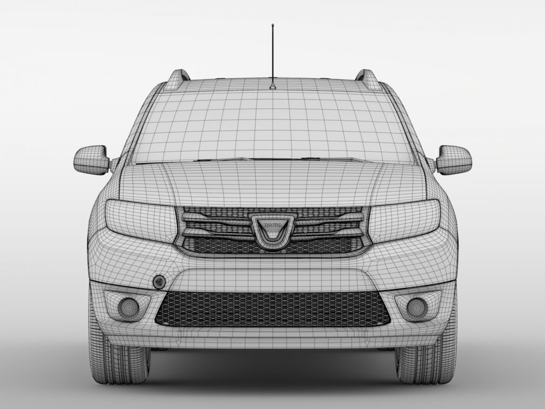 Dacia Logan VAN 2016 ( 538.61KB jpg by CREATOR_3D )