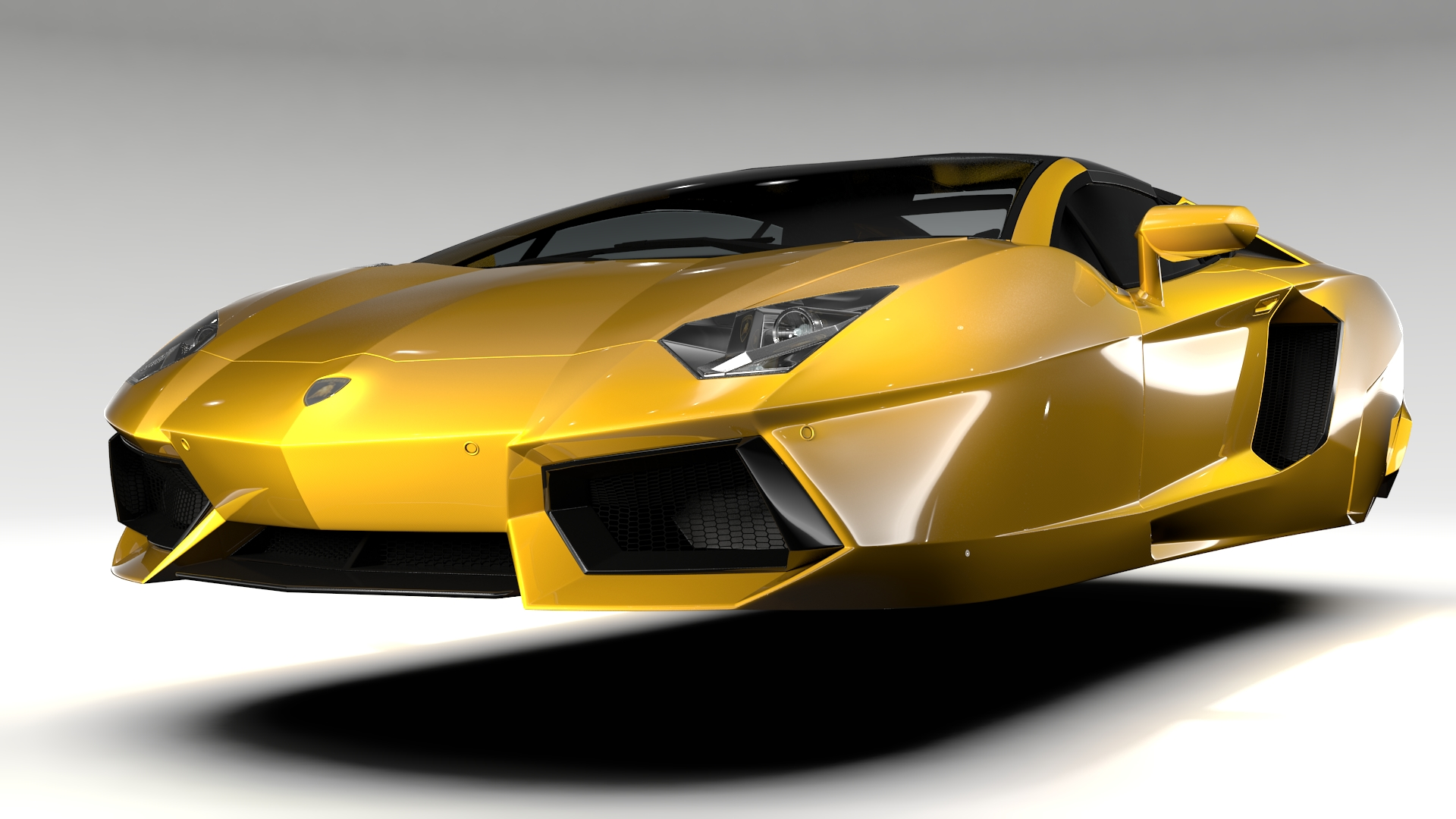 Lovely Lamborghini Aventador Fantasy Crystal Home Fly Car. Lamborghini Aventador  Flying D Model