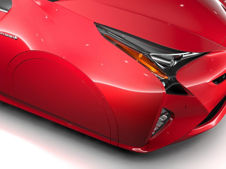 Toyota Prius Flying 2017 ( 780.67KB jpg by CREATOR_3D )