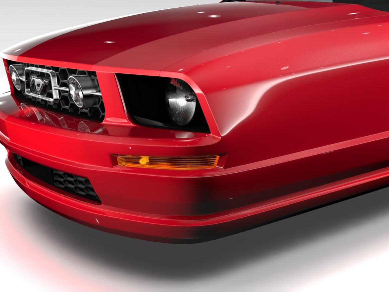 Ford Mustang v6 Pony 2006 Flying ( 750.27KB jpg by CREATOR_3D )