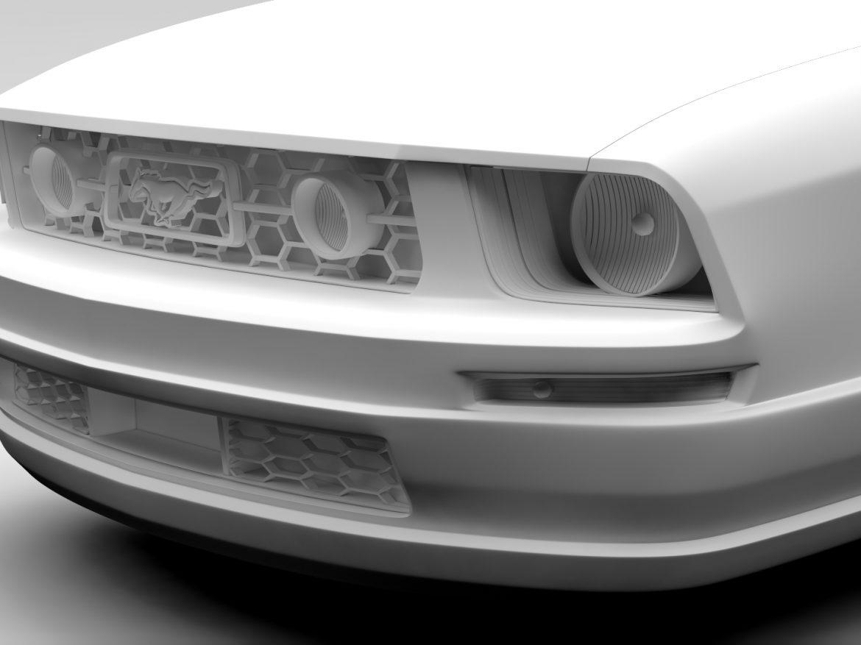 Ford Mustang v6 Pony 2006 Flying ( 384.84KB jpg by CREATOR_3D )