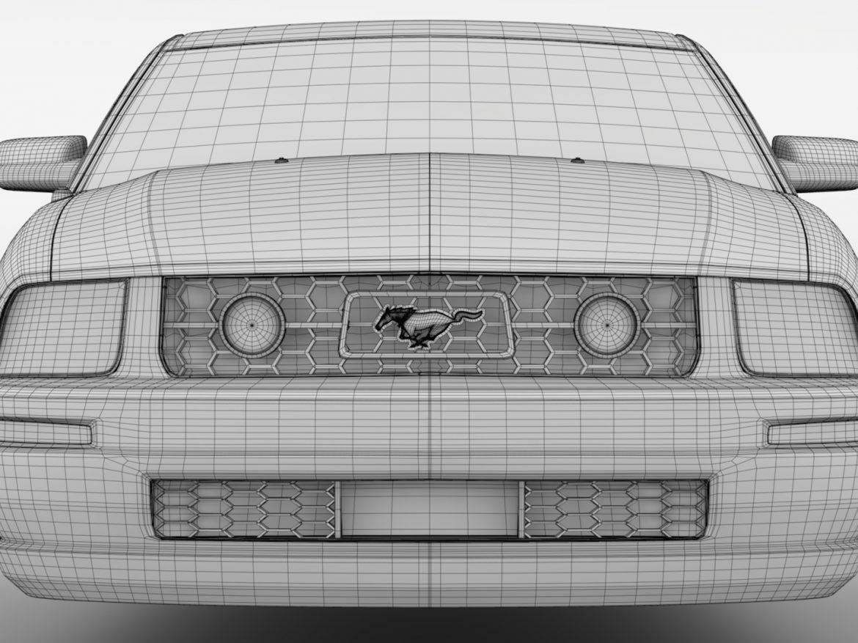 Ford Mustang v6 Pony 2006 Flying ( 726.18KB jpg by CREATOR_3D )