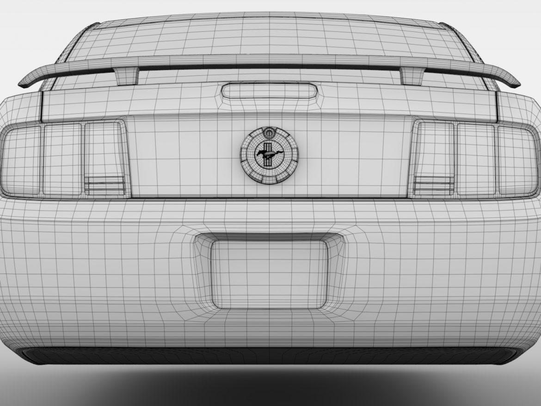 Ford Mustang v6 Pony 2006 Flying ( 592.21KB jpg by CREATOR_3D )