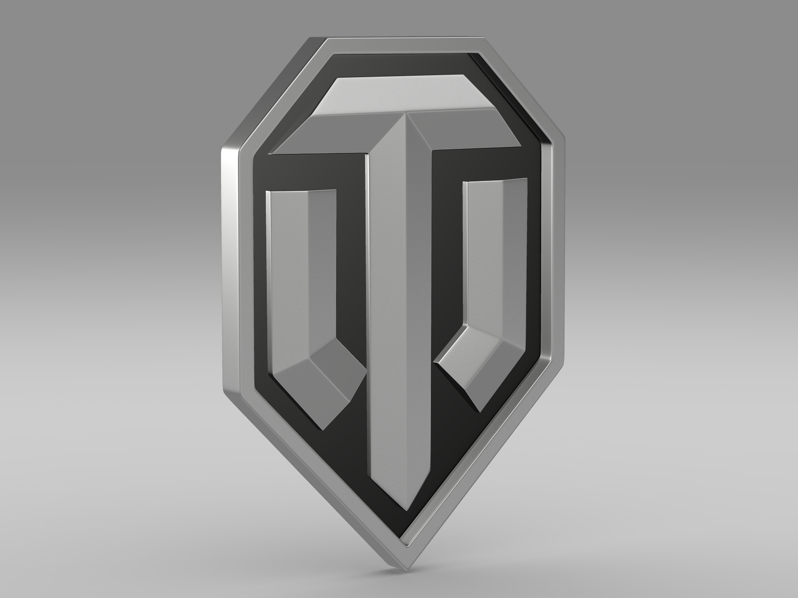 world of tanks logo 3d model 3ds fbx c4d lwo ma mb hrc xsi obj 221455