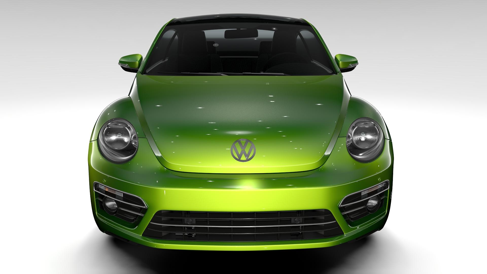 vw beetle 2017 3d model 3ds max fbx c4d lwo ma mb hrc xsi obj 221566
