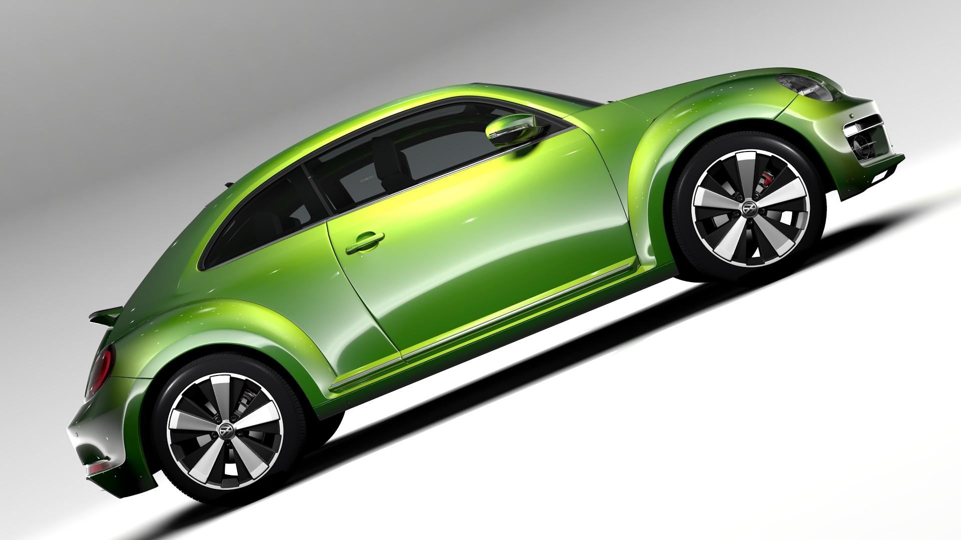 vw beetle 2017 3d model 3ds max fbx c4d lwo ma mb hrc xsi obj 221571