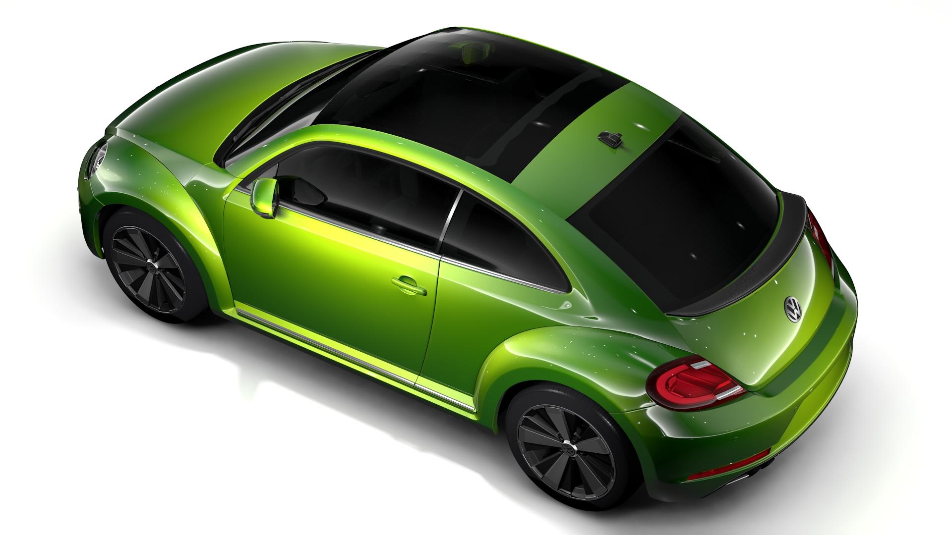 vw beetle 2017 3d model 3ds max fbx c4d lwo ma mb hrc xsi obj 221573