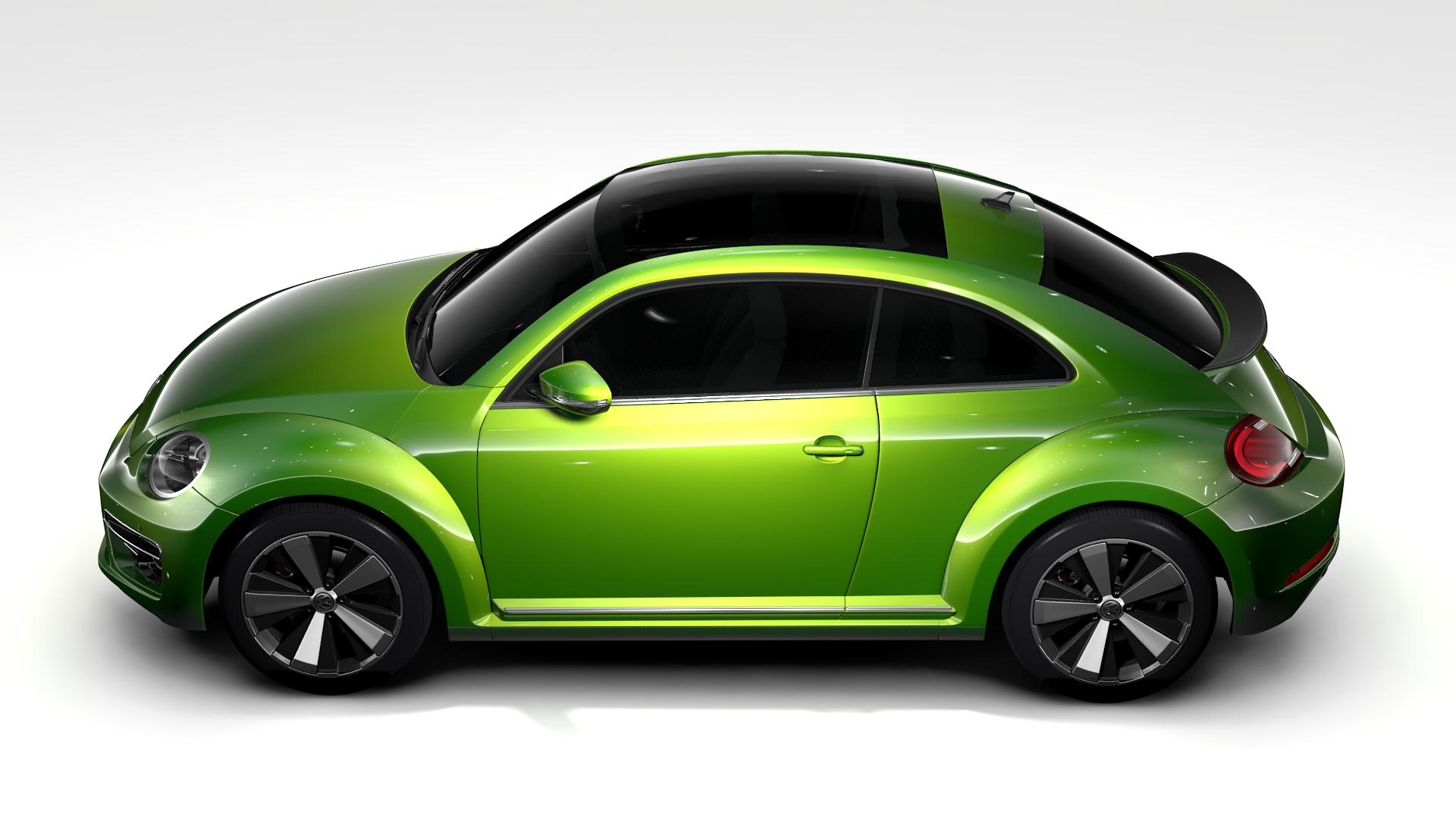 vw beetle 2017 3d model 3ds max fbx c4d lwo ma mb hrc xsi obj 221575