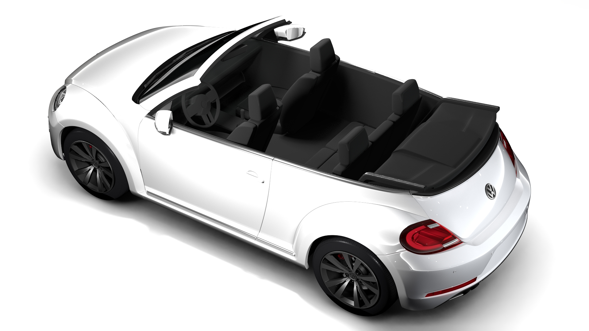 vw beetle cabriolet 2017 3d model 3ds max fbx c4d lwo ma mb hrc xsi obj 221600
