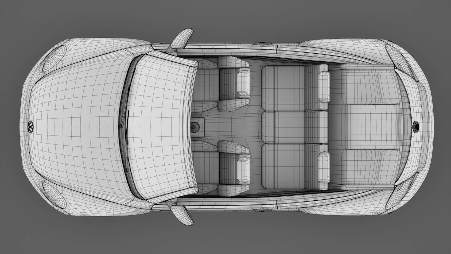 vw beetle cabriolet 2017 3d model 3ds max fbx c4d lwo ma mb hrc xsi obj 221611