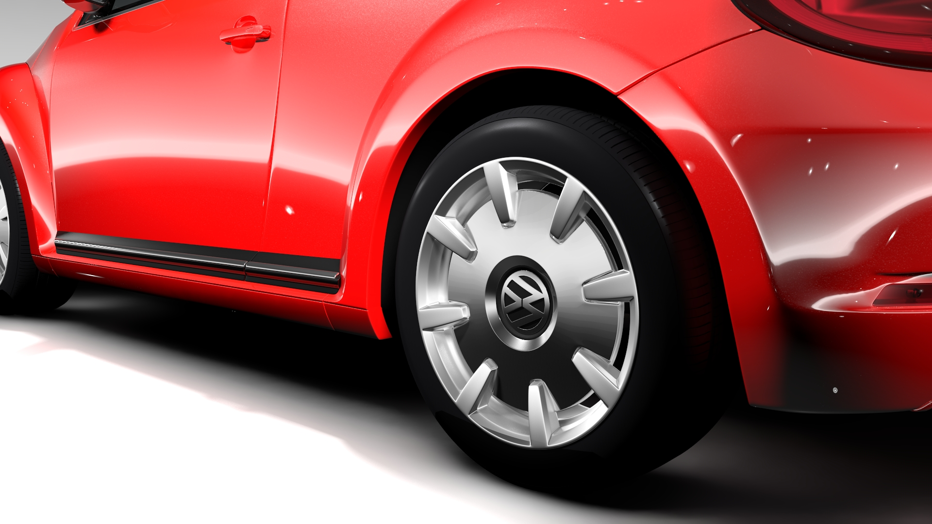 vw beetle turbo 2017 3d model 3ds max fbx c4d lwo ma mb hrc xsi obj 221664
