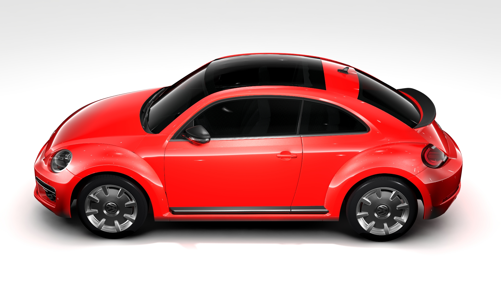 vw beetle turbo 2017 3d model 3ds max fbx c4d lwo ma mb hrc xsi obj 221666