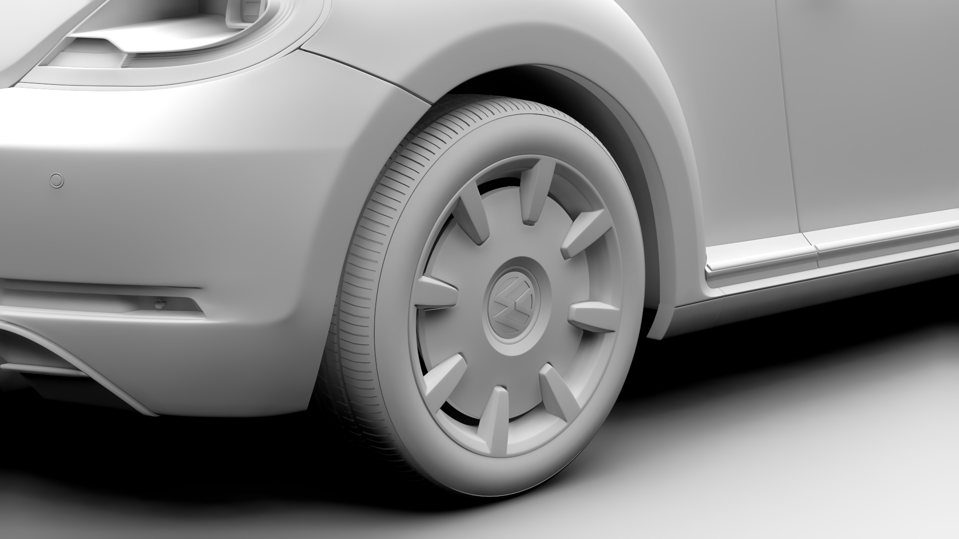 vw beetle turbo 2017 3d model 3ds max fbx c4d lwo ma mb hrc xsi obj 221669