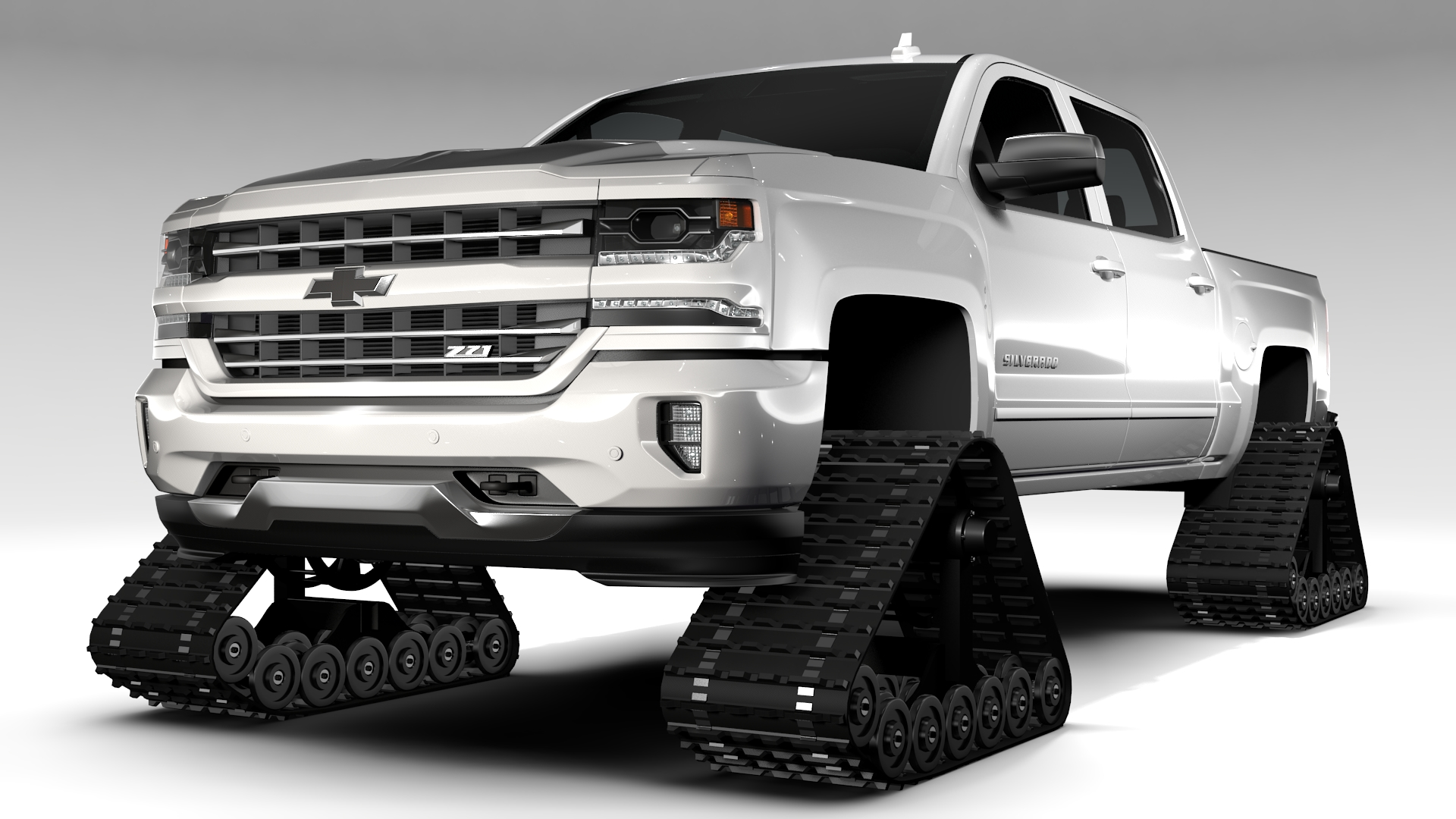 chevrolet silverado ltz z71 crawler 2017 3d model buy chevrolet silverado ltz z71 crawler 2017. Black Bedroom Furniture Sets. Home Design Ideas