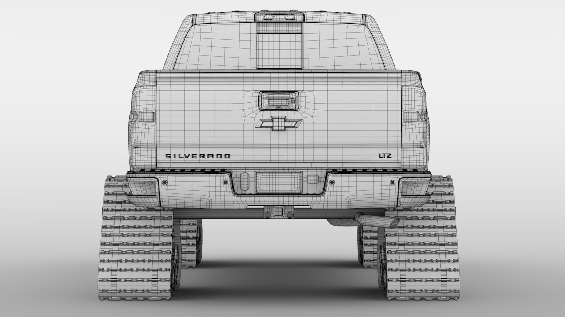 chevrolet silverado ltz z71 crawler 2017 3d model 3ds max fbx c4d lwo ma mb hrc xsi obj 221703