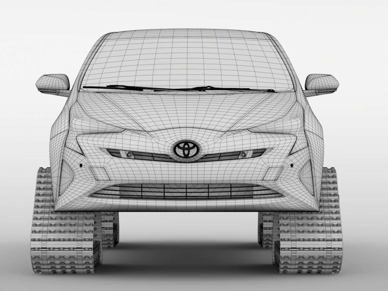 Toyota Prius Crawler 2017 ( 608.13KB jpg by CREATOR_3D )