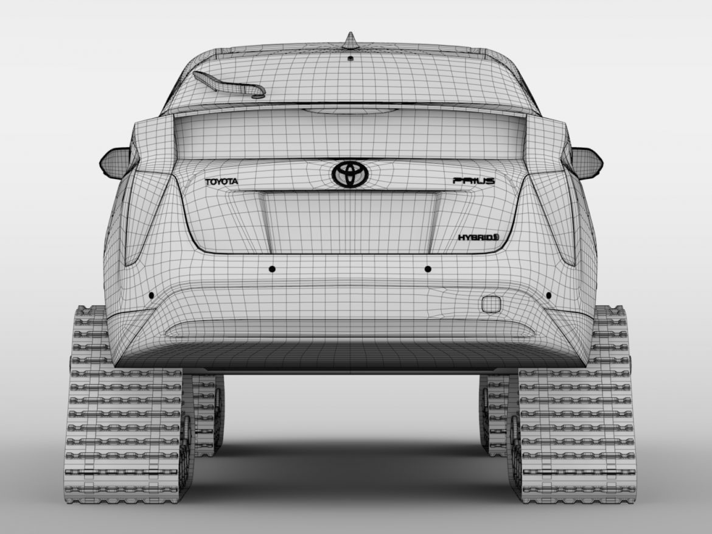 Toyota Prius Crawler 2017 ( 566.53KB jpg by CREATOR_3D )