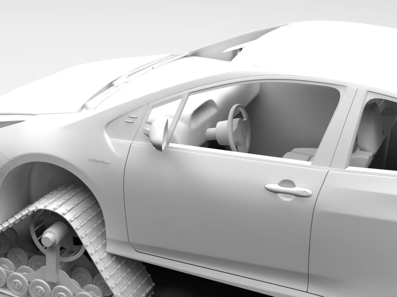 Toyota Prius Crawler 2017 ( 410.85KB jpg by CREATOR_3D )