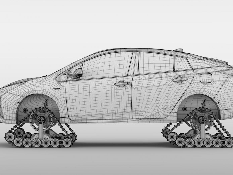 Toyota Prius Crawler 2017 ( 603.14KB jpg by CREATOR_3D )