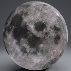MoonGlobe 4k 3d model 0