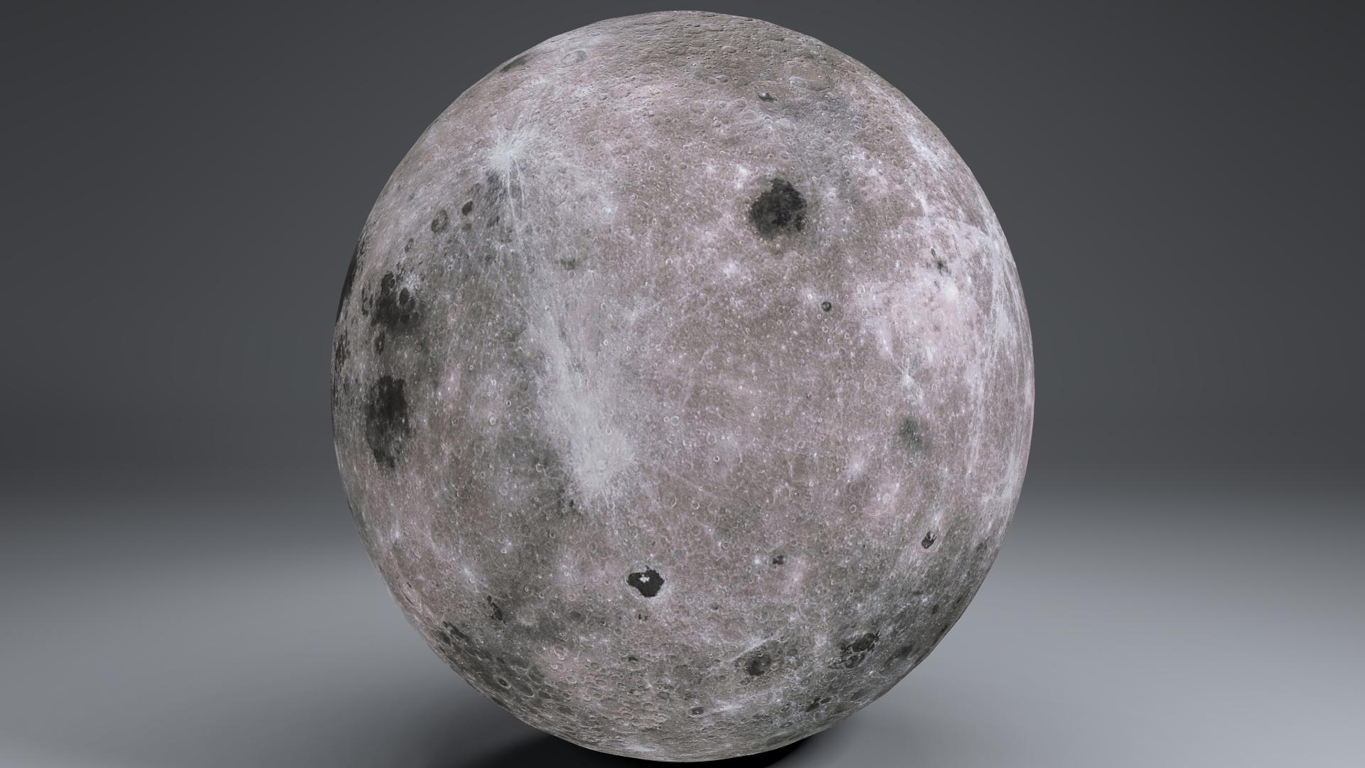 MoonGlobe 4k 3d model 3ds fbx blend dae obj 221755