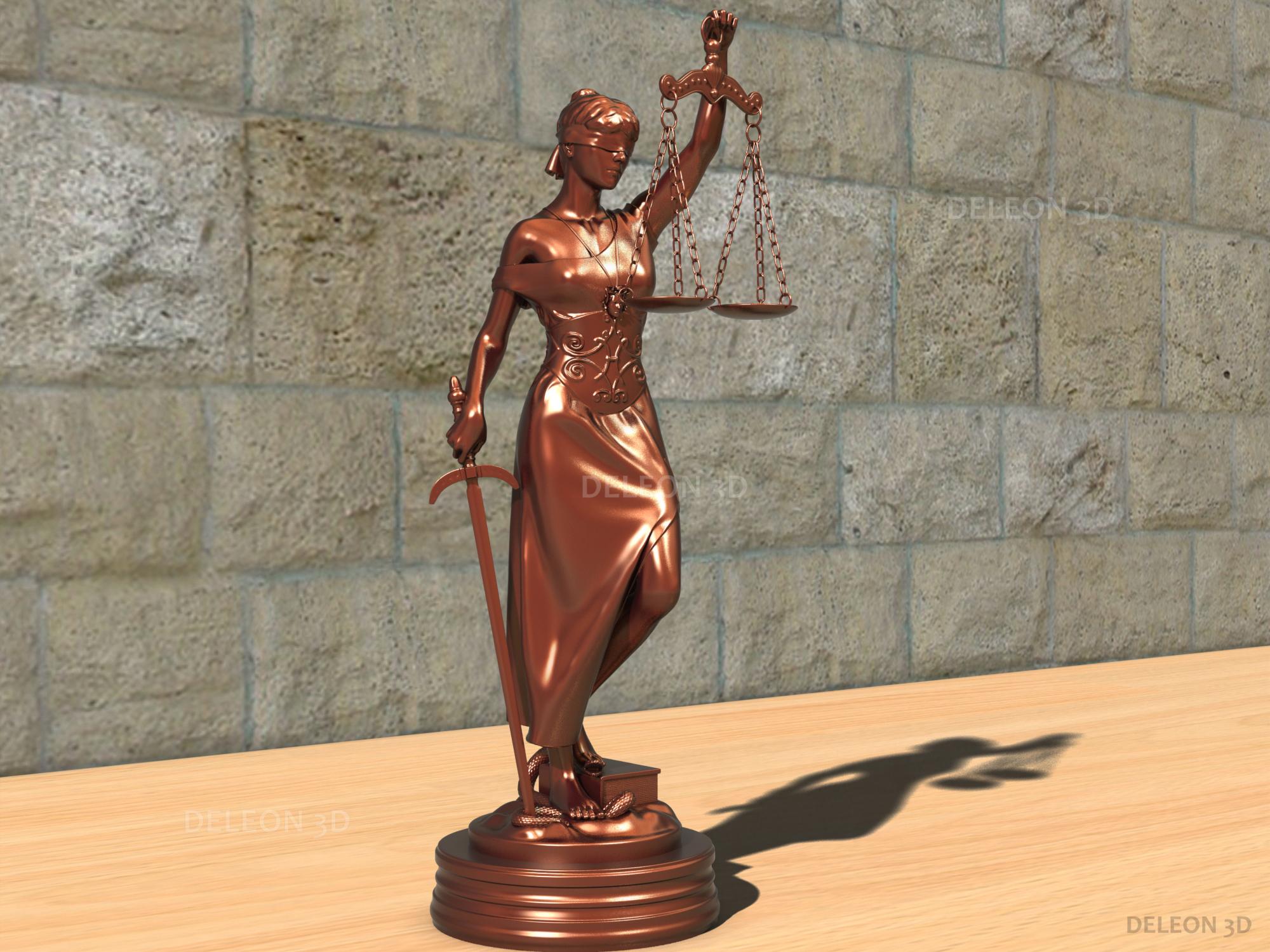 statue themis 3d model max fbx c4d lxo  obj ztl 221777