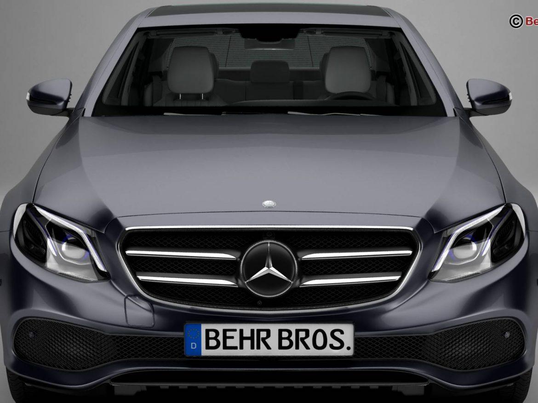 Mercedes E Class Avantgarde 2017 ( 152.66KB jpg by Behr_Bros. )