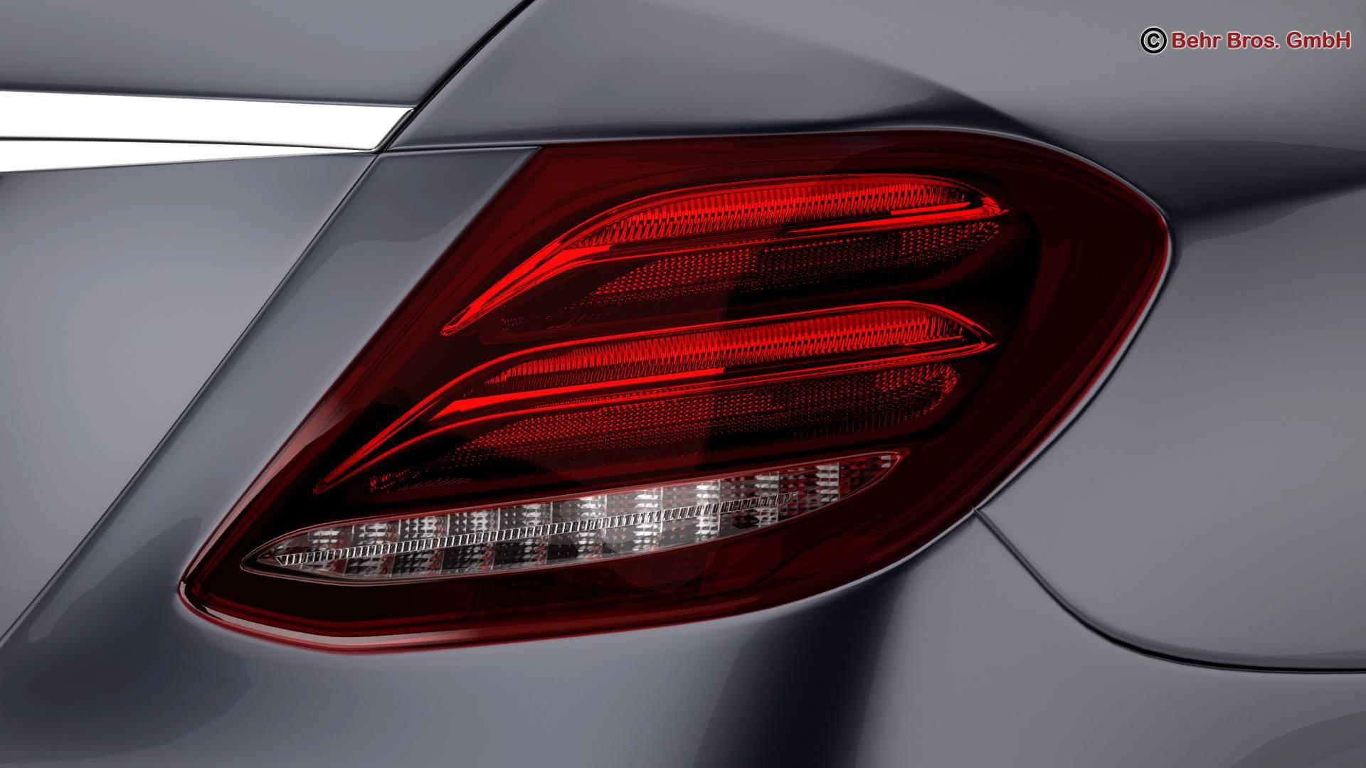 mercedes e class avantgarde 2017 3d model 3ds max fbx c4d lwo ma mb obj 221809