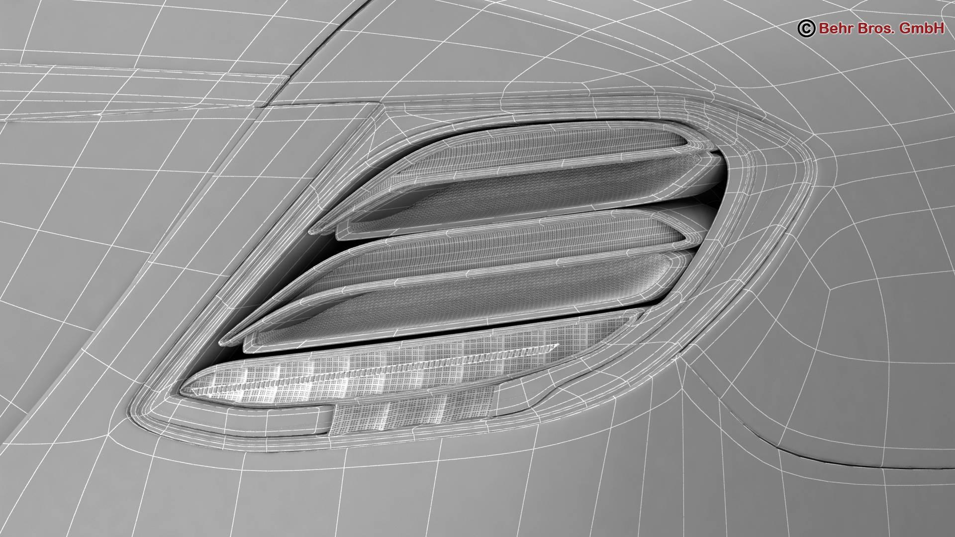 mercedes e class avantgarde 2017 3d model 3ds max fbx c4d lwo ma mb obj 221824