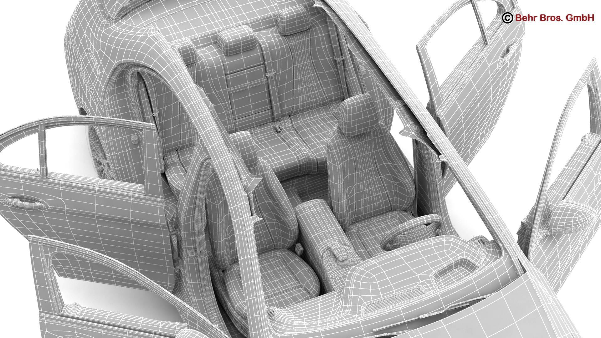 mercedes e class avantgarde 2017 3d model 3ds max fbx c4d lwo ma mb obj 221825