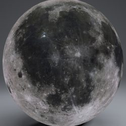 MoonGlobe 8k 3d model 0
