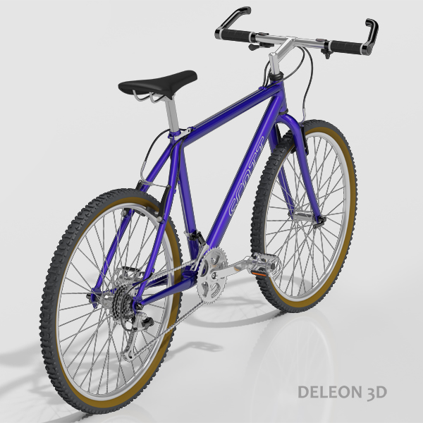mountain bike 3d model max fbx c4d jpeg jpg lxo  obj 221874