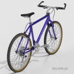 Mountain Bike 3d model 0