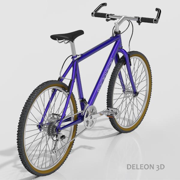 Mountain Bike  ( 206.5KB jpg by leon0027 )