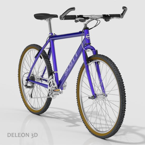 Mountain Bike  ( 179.86KB jpg by leon0027 )