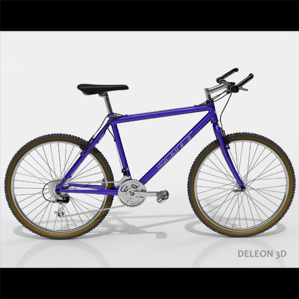 Mountain Bike  ( 166.37KB jpg by leon0027 )